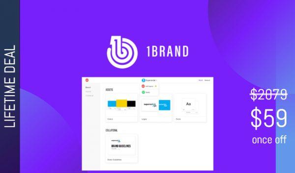 Buy Software Apps 1Brand Lifetime Deal header
