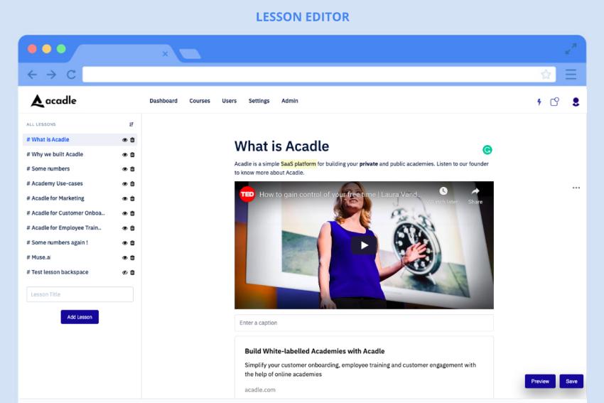 Buy Software Apps Acadle Lifetime Deal content 1