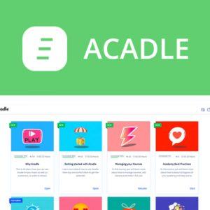 Buy Software Apps Acadle Lifetime Deal header