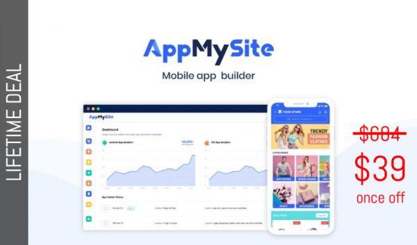 Buy Software Apps AppMySite Lifetime Deal header