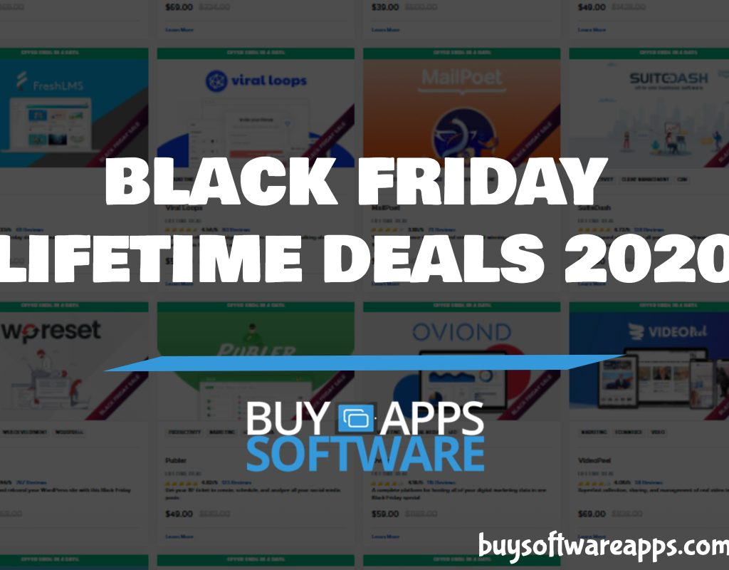 Buy Software Apps Appsumo Black Friday Deals 2020