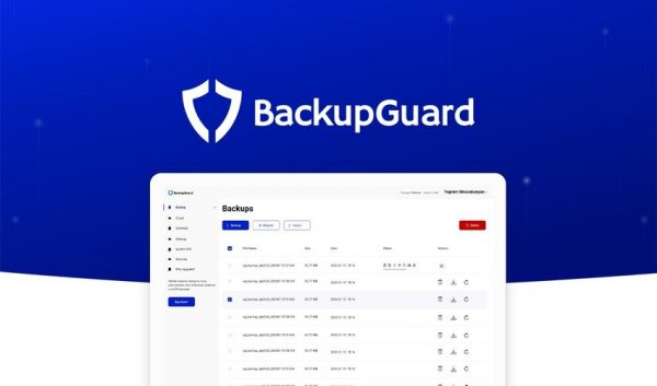 Buy Software Apps BackupGuard WordPress Plugin Lifetime Deal header