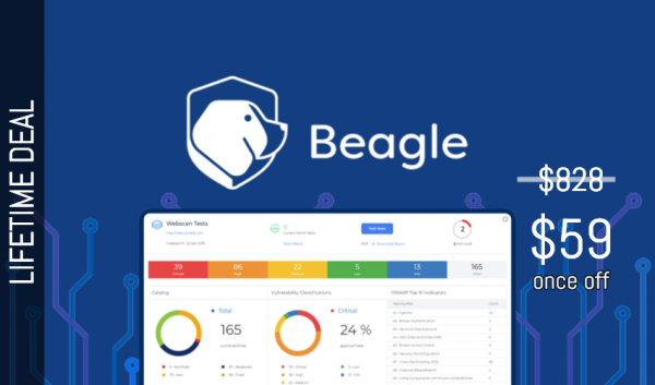 Buy Software Apps BeagleSecurity Lifetime Deal header