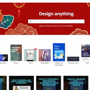 Buy Software Apps - Canva Online Design Tool Header
