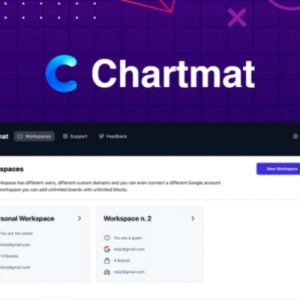 Buy Software Apps Chartmat Lifetime Deal header