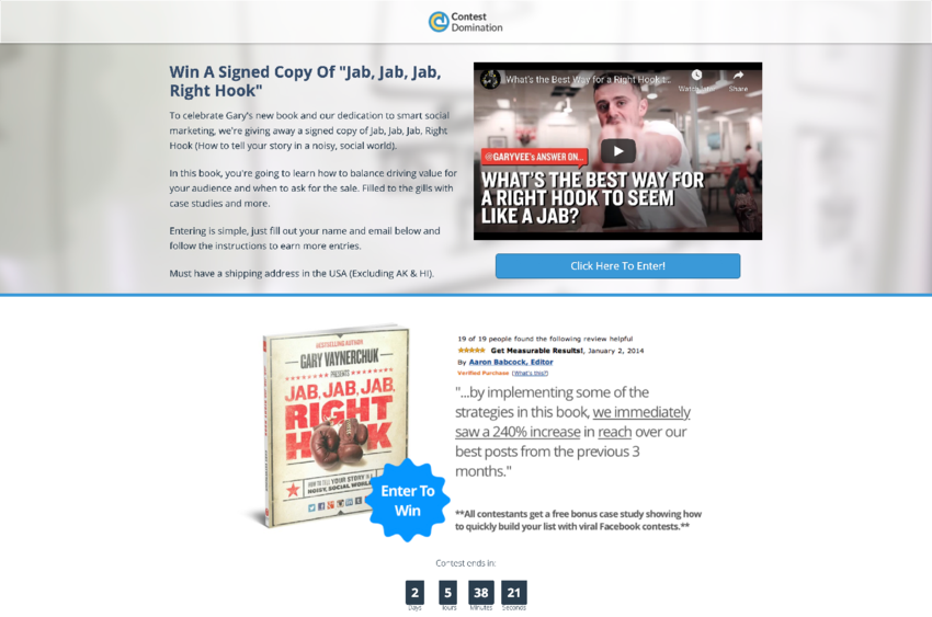 Buy Software Apps Contest Domination Lifetime Deal content 1