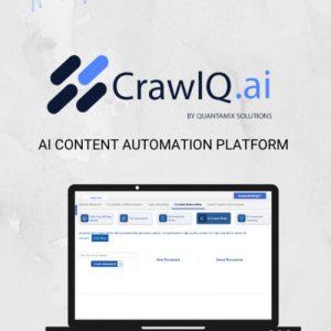 Buy Software Apps CrawIQ Lifetime Deal header