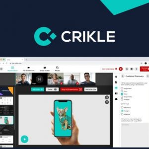 Buy Software Apps Crikle Page Lifetime Deal header