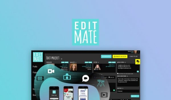 Buy Software Apps EditMate Lifetime Deal header
