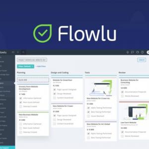 Buy Software Apps Flowlu Lifetime Deal header
