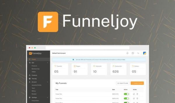 Buy Software Apps Funneljoy Lifetime Deal header