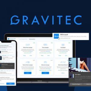 Buy Software Apps Gravitec Lifetime Deal header