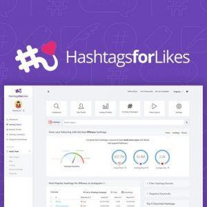 Buy Software Apps HashTagsForLikes Lifetime Deal header