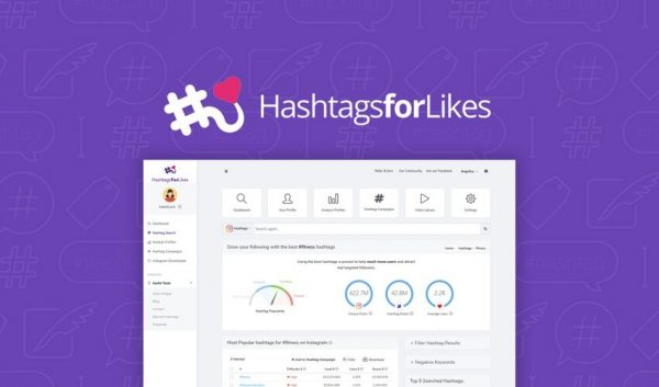 Buy Software Apps HashTagsForLikes Lifetime Deal header