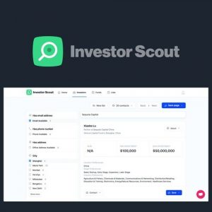 Buy Software Apps Investor Scout Lifetime Deal header