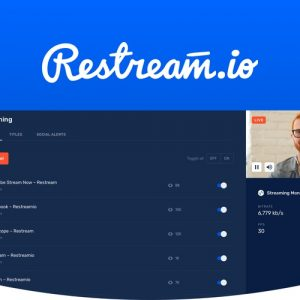 Buy Software Apps - LIfetime Deal Restream header