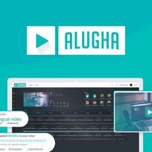 Buy Software Apps Lifetime Deal Alugha header