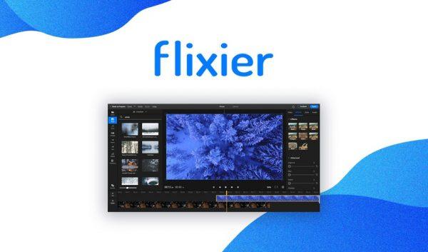 Buy Software Apps Lifetime Deal Flixier header