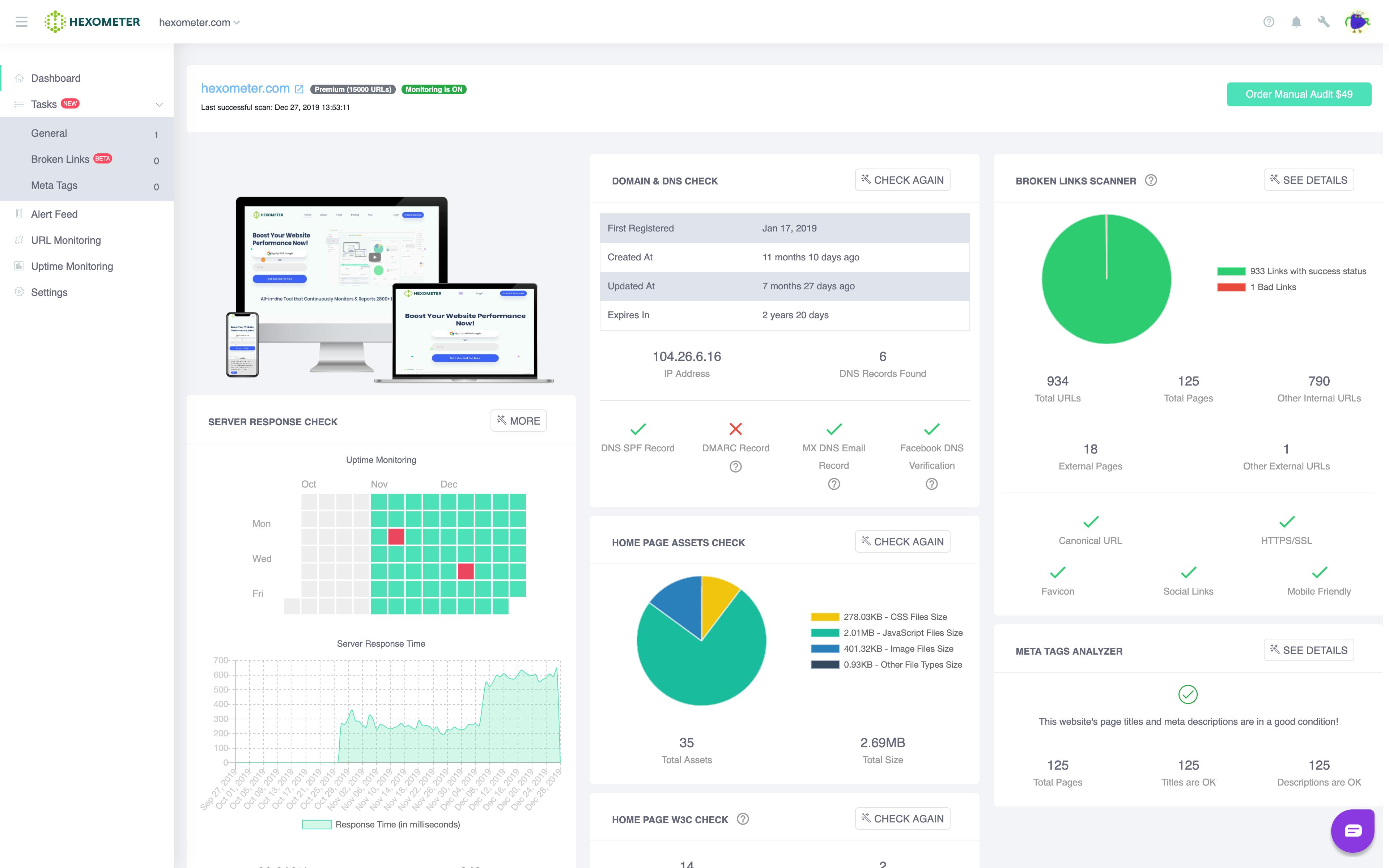 Buy Software Apps Lifetime Deal Hexometer content 1