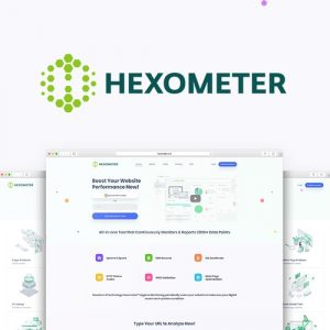 Buy Software Apps Lifetime Deal Hexometer header