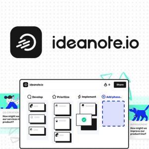 Buy Software Apps Lifetime Deal Ideanote header