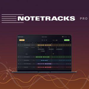 Buy Software Apps Lifetime Deal Notetracks pro header