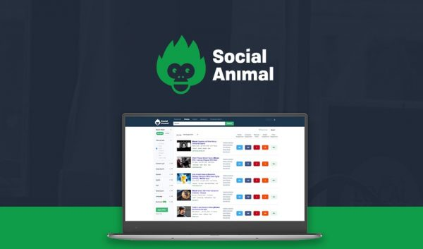 Buy Software Apps Lifetime Deal Social Animal header