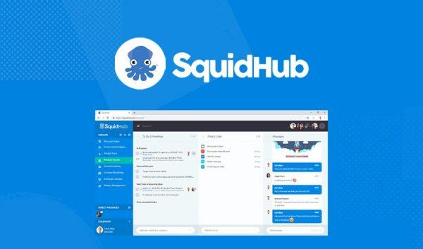 Buy Software Apps Lifetime Deal SquidHub header