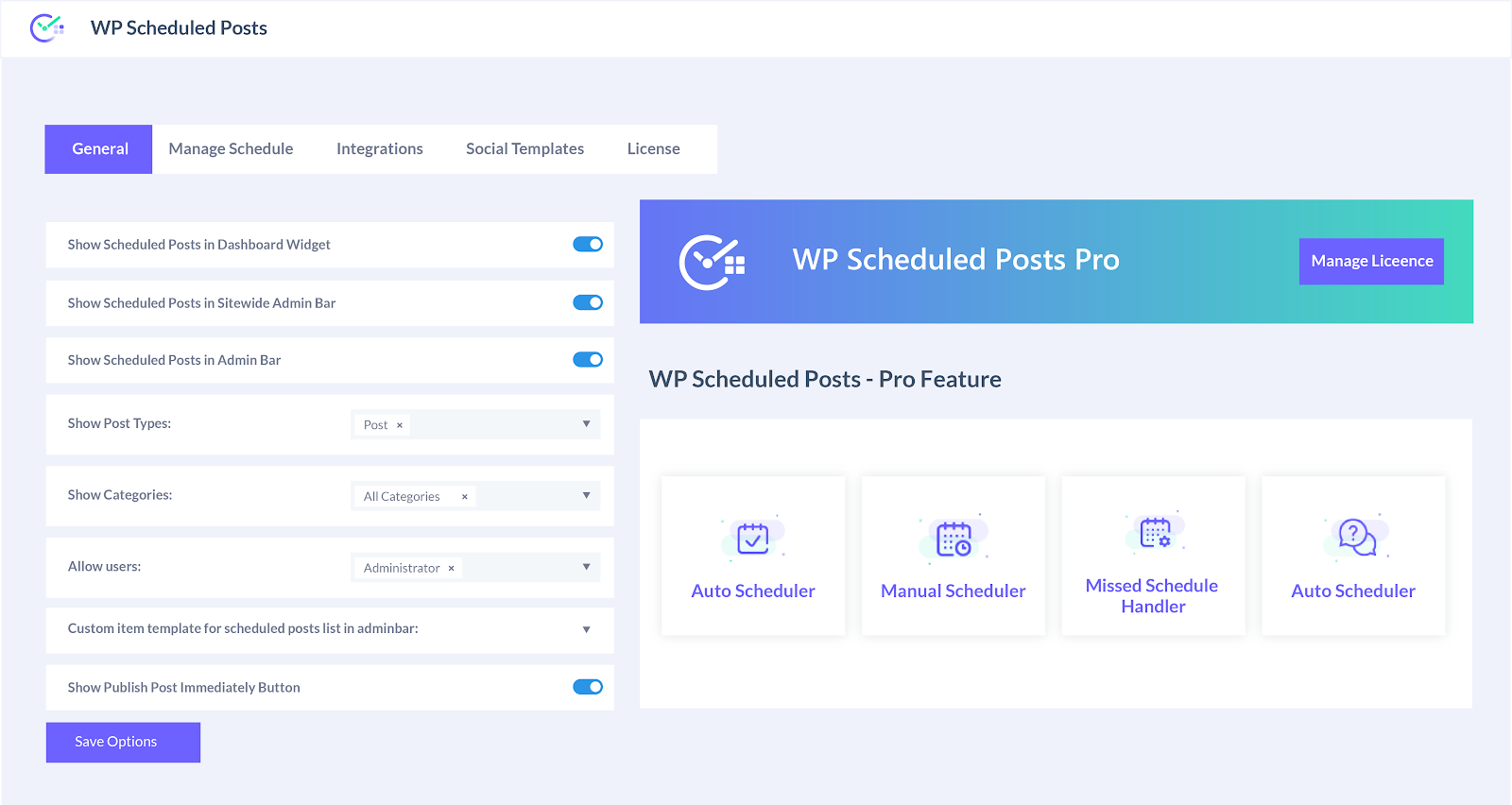 Buy Software Apps - Lifetime Deal WP Schedule Posts content