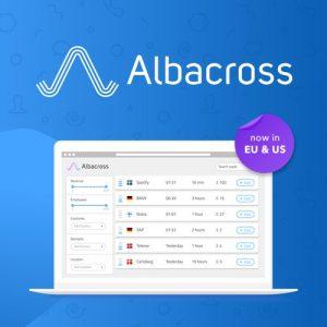 Buy Software Apps - Lifetime Deal to Albacross header