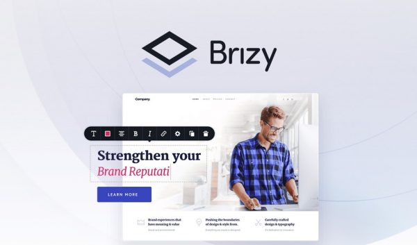 Buy Software Apps Lifetime Deal to Brizy header