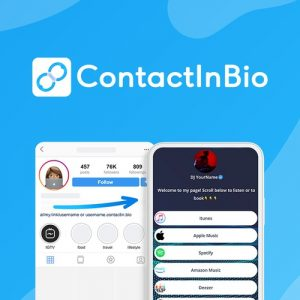Buy Software Apps - Lifetime Deal to ContactInBio header