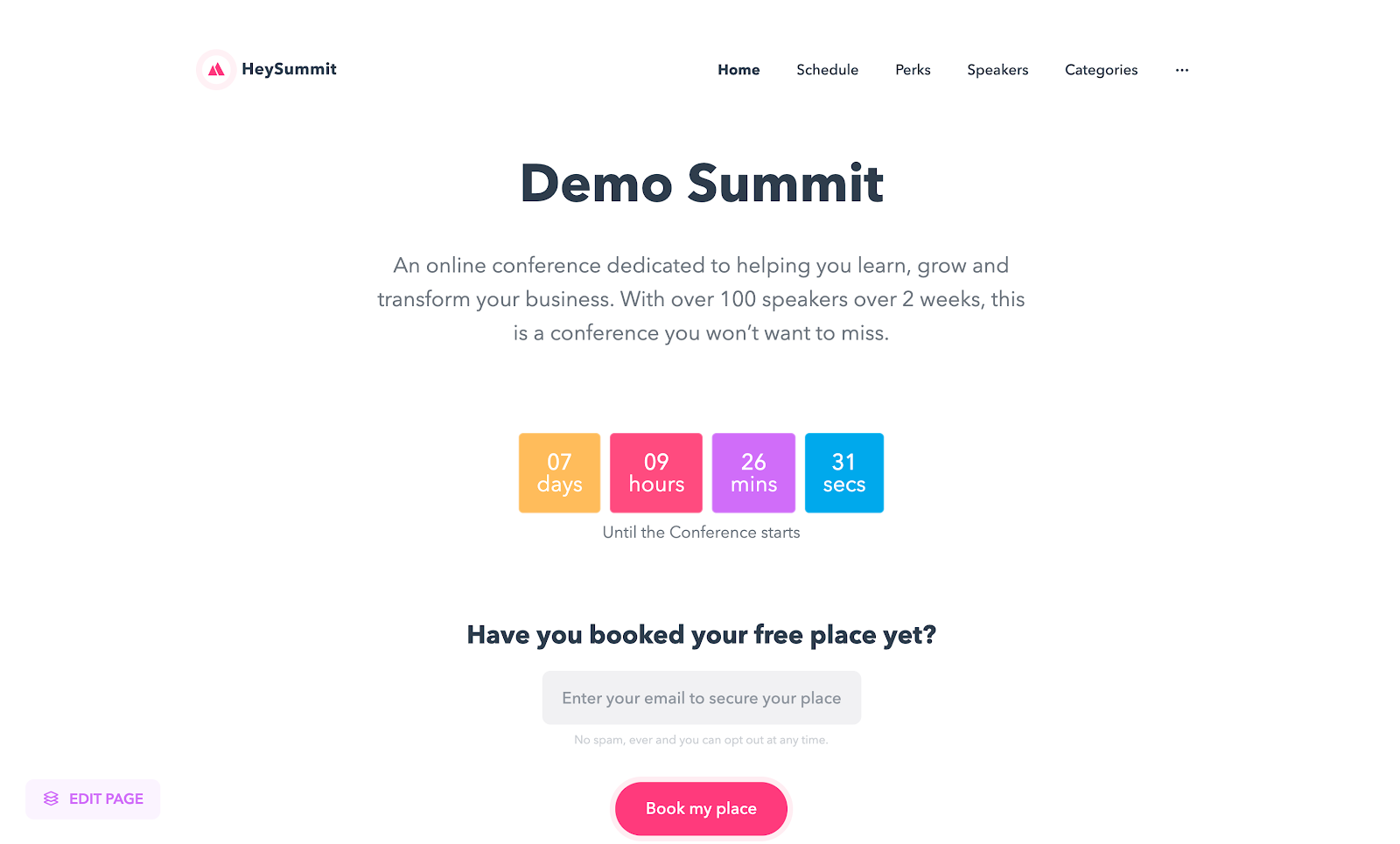 Buy Software Apps - Lifetime Deal to HeySummit content
