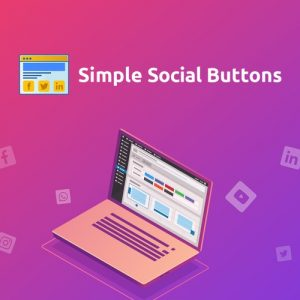 Buy Software Apps - Lifetime Deal to Simple Social Button header