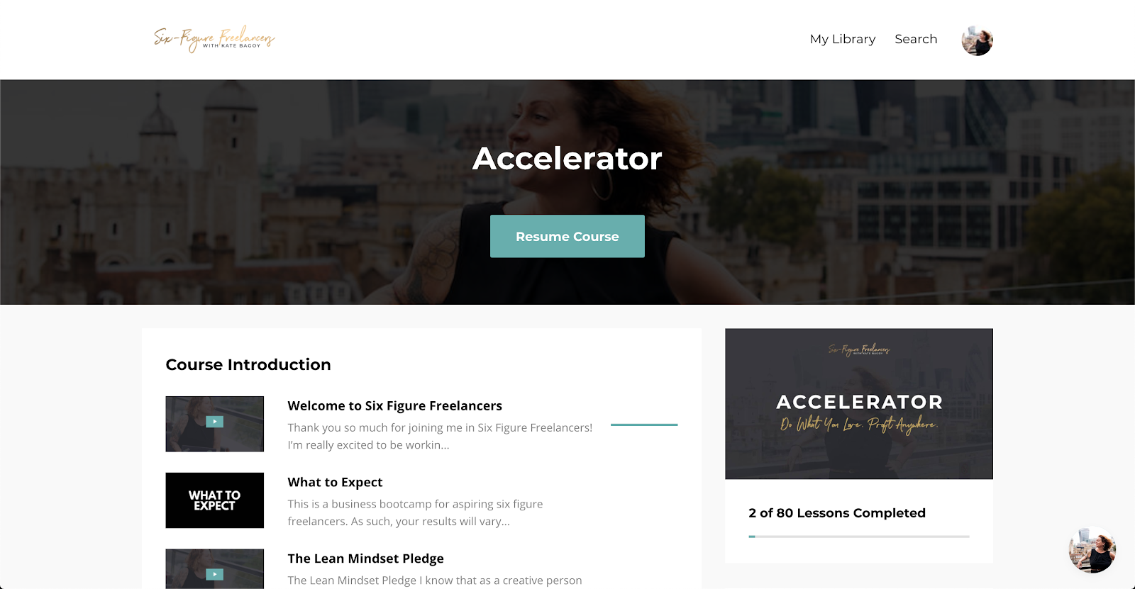 Buy Software Apps Lifetime Deal to Six Figure Freelancers Accelerator content