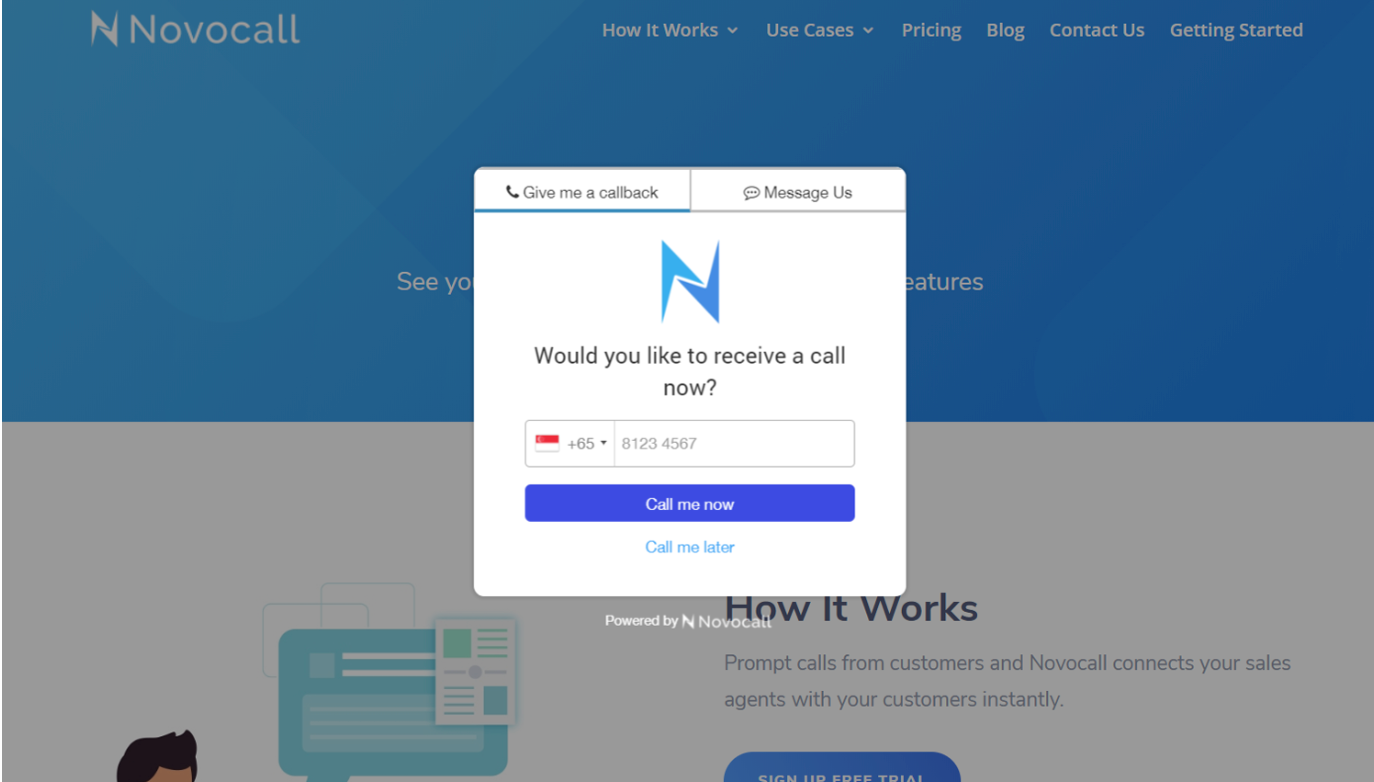 Buy Software Apps - Lifetime Deal to novocall content