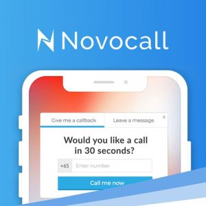 Buy Software Apps - Lifetime Deal to novocall header
