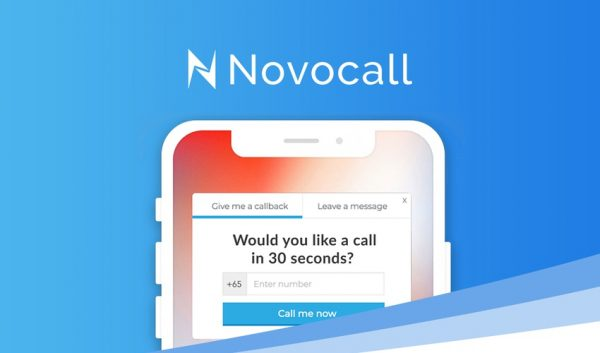 Buy Software Apps - Lifetime Deal to novocall header