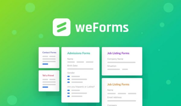 Buy Software Apps - Lifetime Deal to weForms header