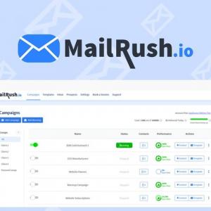 Buy Software Apps MailRush Lifetime Deal header