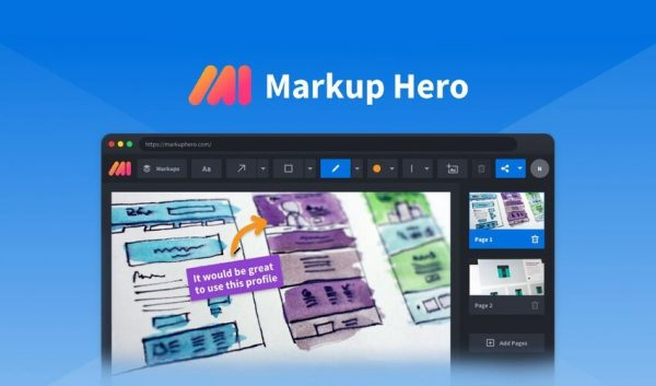 Buy Software Apps Markup Hero Plugin Lifetime Deal header