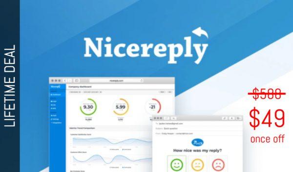 Buy Software Apps NIcereply Lifetime Deal header