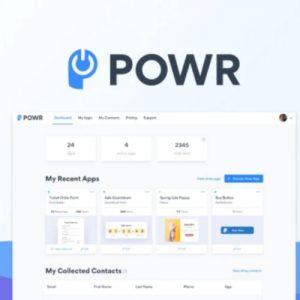 Buy Software Apps POWR Lifetime Deal header