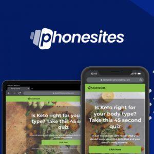 Buy Software Apps Phonesites Lifetime Deal header