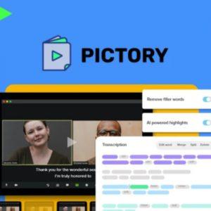 Buy Software Apps Pictory Lifetime Deal header
