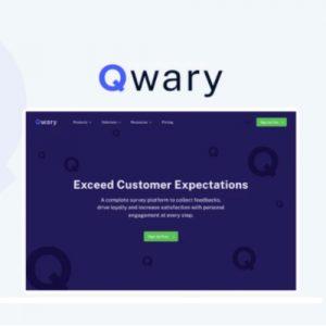 Buy Software Apps Qwary Lifetime Deal header