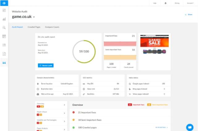 Buy Software Apps Ranktracker Lifetime Deal content 4