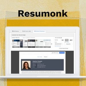 Buy Software Apps Resumonk Lifetime Deal header