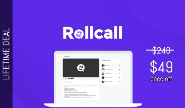 Buy Software Apps Rollcall Lifetime Deal header