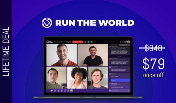 Buy Software Apps Run The World Lifetime Deal header
